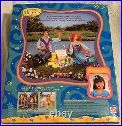 1997 Mattel Disney Little Mermaid Ariel & Eric Dolls Picnic Party Gift Set VHTF