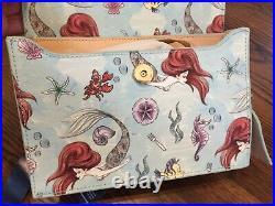 ARIEL CROSSBODY PURSE DISNEY DOONEY & BOURKE Little Mermaid NEW WITH TAGS