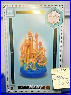 Ariel Castle Light-Up Figurine The Little Mermaid Limited Release SHIPS NOW