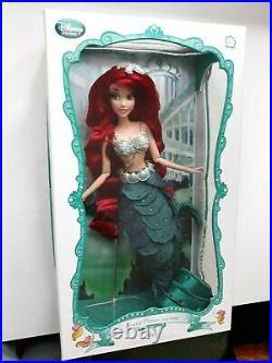 Ariel Limited Edition Doll 17 Disney Store 2013 The Little Mermaid La Sirenetta