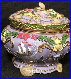 Ariel Little Mermaid Musical Jewelry Box Disney RARE 1998