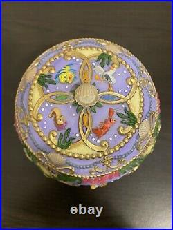 Ariel Little Mermaid Musical Jewelry Box Disney Rare