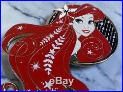 Ariel Mermaid Noir Fantasy Pin LE 50