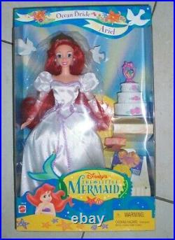 Ariel Ocean Bride Disney's The Little Mermaid Doll 1997 Mattel