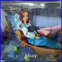 Ariel The little mermaid disney store kiss the girl doll READ