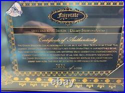 Ariel and Triton Doll Set Disney Little Mermaid Fairytale Collection LE 355/6000