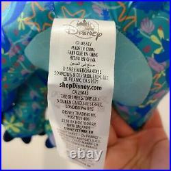 Authentic Disney 2021 Stitch Crashes Plush Ariel little mermaid April IN HAND