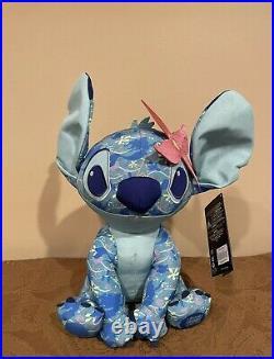 Brand New Disney Stitch Crashes The Little Mermaid Ariel Plush April In Hand