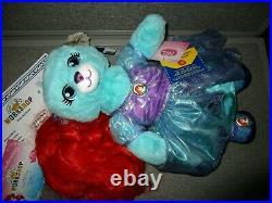Build a Bear Disney-Limited Edition-CINDERELLA & Ariel LITTLE MERMAID-NEW