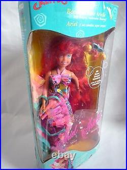 Calypso Beautiful Hair Ariel / Little Mermaid / In Original Box / With Sebastian