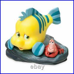 DISNEY Designer Fairytale Little Mermaid ARIEL King TRITON 11 LE Doll Flounder