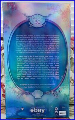 DISNEY LITTLE MERMAID 17 Limited Edition 30TH ANNIVERSARY NIB ARIEL LE 5500