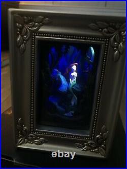 DISNEY Olszewski Gallery Of Light Little Mermaid Part of Your World RARE Ariel