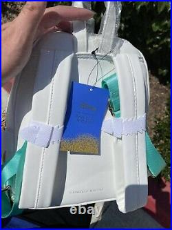 Danielle Nicole Ariel The Little Mermaid Backpack AND Wallet RARE NWT