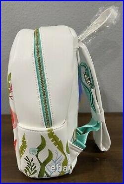 Danielle Nicole The Little Mermaid Ariel Backpack NWT Box Lunch Disney