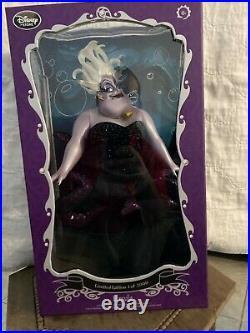 Disney 17 inch The Little Mermaid Ursula Limited Edition Doll