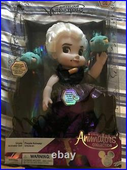 Disney Animators Collection Ursula Doll Special Edition Little Mermaid New