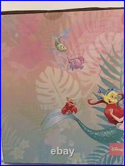 Disney Ariel Deluxe Gift Set Little Mermaid Eric Boat in Box Newithsealed