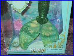 Disney Ariel From The Little Mermaid Deluxe Feature 18 Singing Doll New