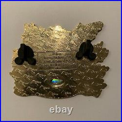 Disney Auctions Ariel on the Rock LE 100 Jumbo Pin Wave The Little Mermaid
