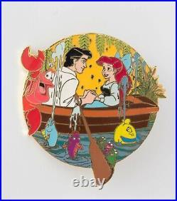 Disney Auctions PRINCESS ARIEL ERIC KISS THE GIRL The Little Mermaid LE Pin Rarr