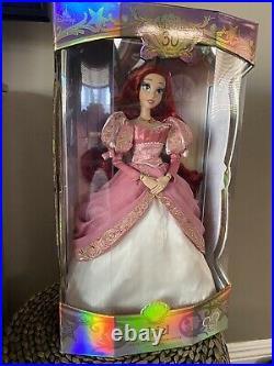 Disney D23 Expo 2019 Limited Edition Doll Ariel Little Mermaid 30th LE 1000