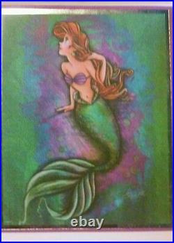 Disney D23 Expo Art of Ariel Lithographs set Of 5/ LE 500 Little Mermaid /NEW