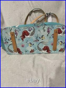 Disney Dooney Bourke Ariel The Little Mermaid TOTE NWT Rare