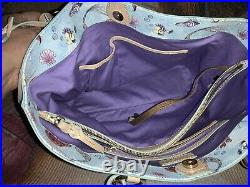 Disney Dooney Bourke Ariel The Little Mermaid TOTE Used Once Rare