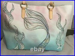 Disney Dooney & Bourke Little Mermaid Tote Free Shipping NEW