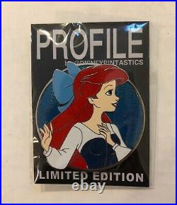 Disney Fantasy Pin Ariel Little Mermaid WDI Style Profile LE 50 New Blue Dress