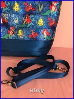 Disney Harvey's Seat belt The Little Mermaid Streamline Crossbody Tote NWT