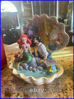 Disney Jim Shore Ariel Little Mermaid Seashell Ursula Triton (see description)