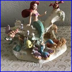 Disney Lenox Under the Sea Little Mermaid Ariel Figurine