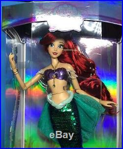 Disney Limited Edition 17 ARIEL Little Mermaid 30th Anniversary LE Doll 2019