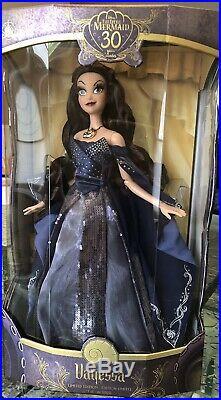 Disney Little Mermaid 30th Anniversary Limited Edition Vanessa Ursula 17 Doll