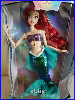 Disney Little Mermaid Ariel 30TH Anniversary Limited Edition 17'' Doll
