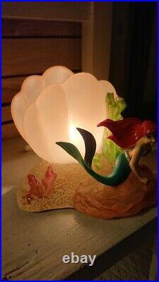 Disney Little Mermaid Ariel Desk Lamp Room Lamp Light Figurine Doll x Lighting
