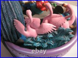 Disney Little Mermaid Ariel Eric Kiss the Girl Table Top Fountain