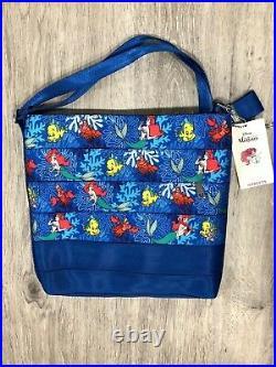 Disney Little Mermaid Ariel Harveys Crossbody Messenger Purse Bag Seatbelt New