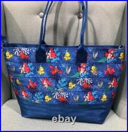 Disney Little Mermaid Ariel Harveys Medium Streamline TitePurse Bag Seatbelt New