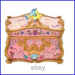Disney Little Mermaid Ariel jewelry case Sebastian accessory case Figure pink