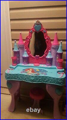 Disney Little Mermaid Keyboard Vanity Ariel's Talking Musical Lighted Piano