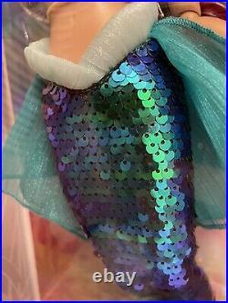 Disney Little Mermaid Limited Edition 30th Anniversary Mermaid Tail Ariel Doll