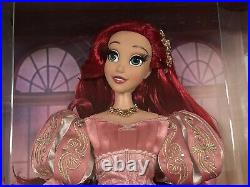 Disney Little Mermaid Limited Edition D23 Expo 30th Anniversary Pink Ariel Doll