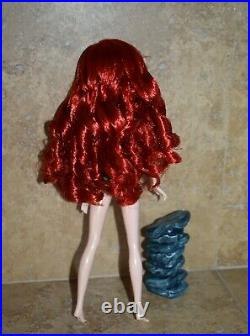Disney Little Mermaid Limited Edition Fairytale Designer nude Ariel Doll ONLY