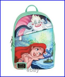Disney Loungefly Exclusive Non DEC Cast Member The Little Mermaid Mini Backpack