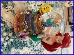 Disney Musical Snow Globe The Little Mermaid Under The Sea