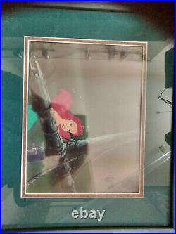 Disney Original Production Cel The Little Mermaid Ariel