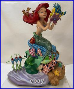 Disney Parks 13 Medium Big Fig The Little Mermaid Ariel and Friends